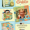 Giggle Collection magazine ad