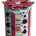 holiday canister by Vicki Boutin