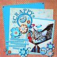 """""""Scrappy Happy"""" by Jennifer Hottinger Sloan"""