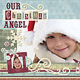 Our Christmas Angel by Kelly Panacci