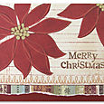 Poinsettia card by Kelly Panacci
