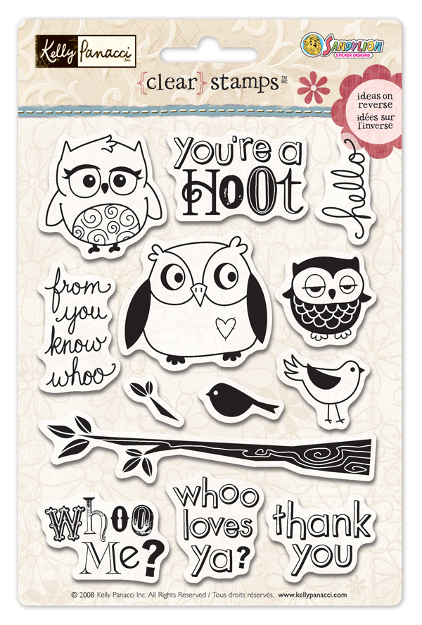 Owl-stamps