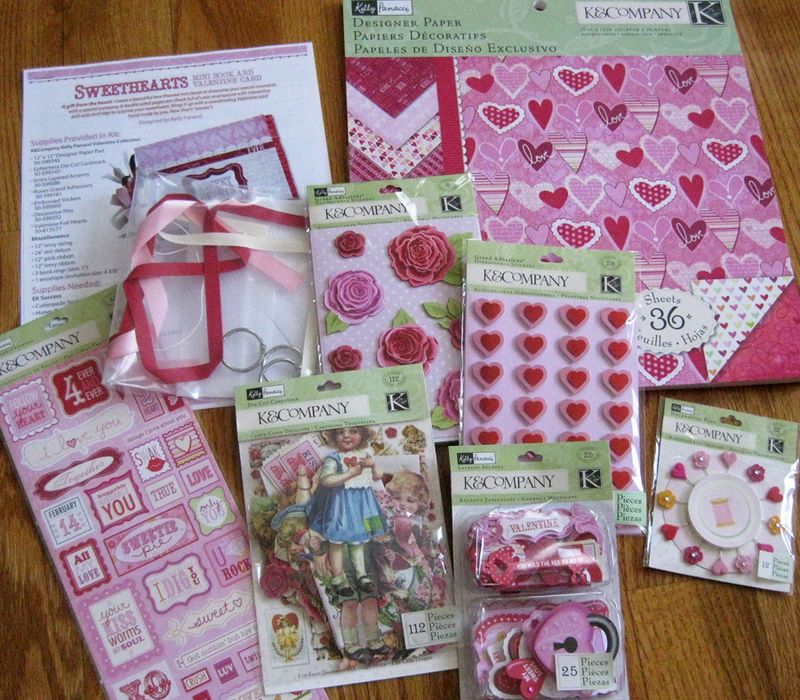 Sweethearts_kit contents