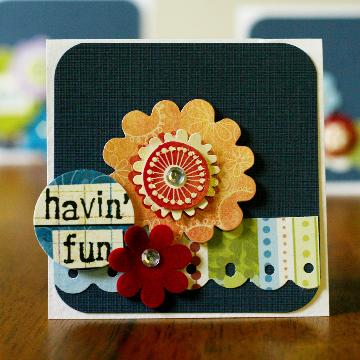 """""""havin fun"""" card by Kathy Thompson Laffoley"""