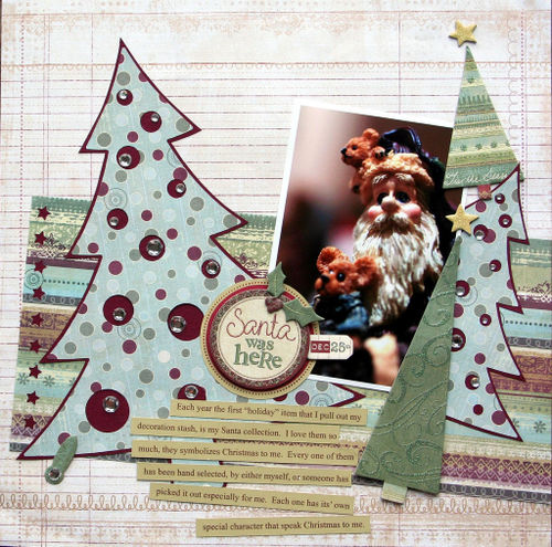 My Santa Collection by Jennifer Hottinger Sloan