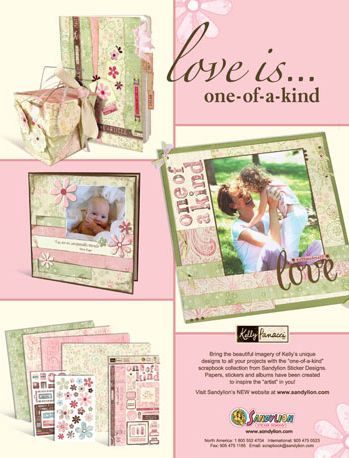 Love is....one-of-a-kind magazine ad