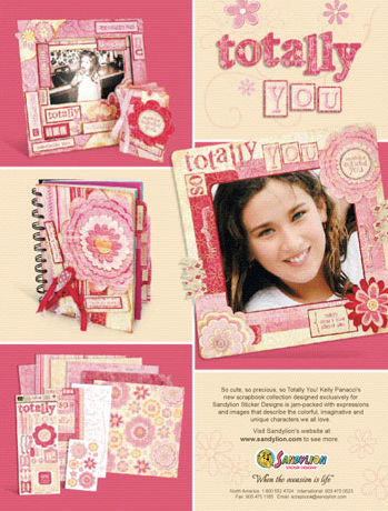 Totally You collection magazine ad