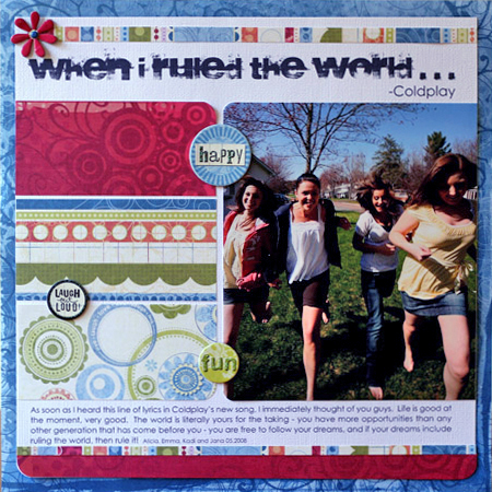 KT-when I ruled the world